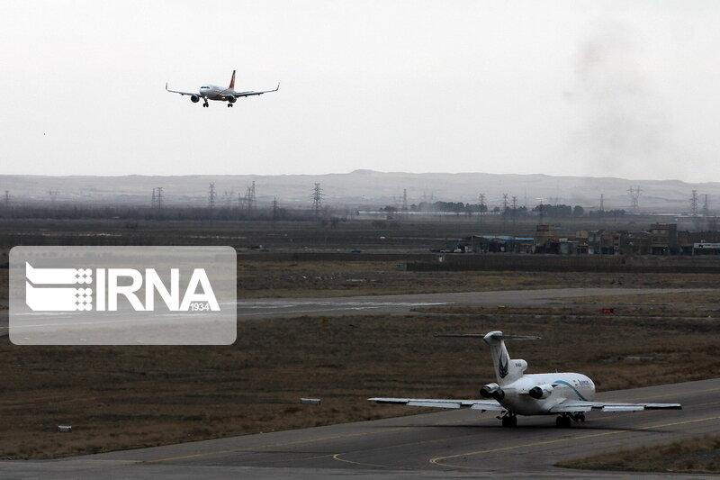 افزایش پرواز در فرودگاههای کمترافیک در نیمه نخست امسال