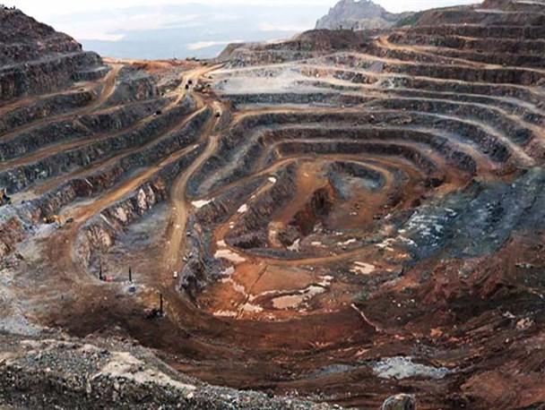 شناسایی یک پهنه معدنی مس - طلا در شهرستان بم