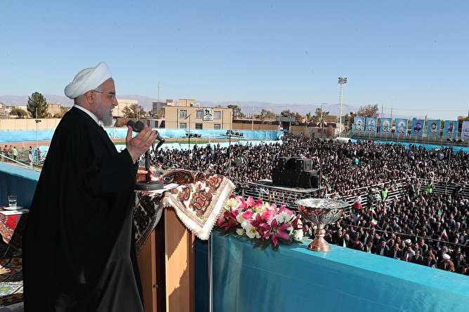 روحانی: اگر برجام را نگه داریم، تحریم تسلیحاتی ایران منقضی می شود