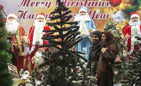 حال و هوای تهران در آستانه کریسمس